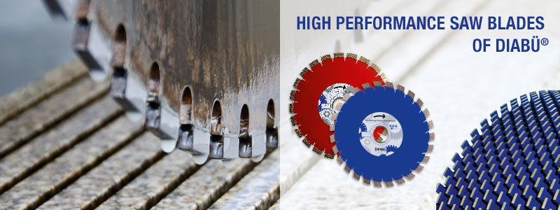 High performance saw blades of DIABÜ®